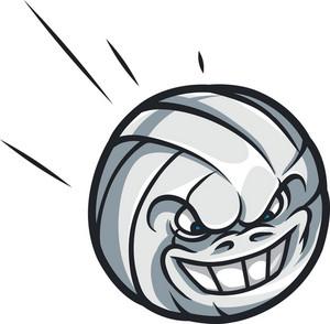 Vector Volleyball Mascot