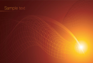 Vector Vortex Background. Flames.