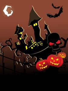 Vector Wallpaper For Halloween