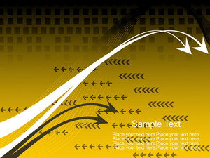 Vector Wave And Stripes Pattern With Arrow Background