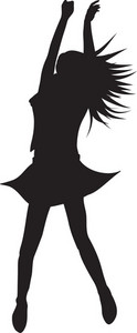 Vector Woman Silhouette