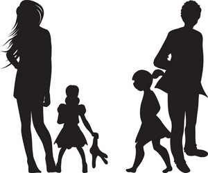 Vector Women Silhouettes