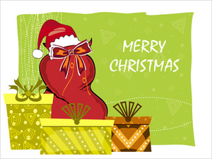 Vector Xmas Day Background