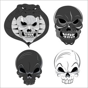Vectors Skulls