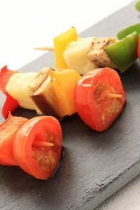 Vegetable Kebab Canape