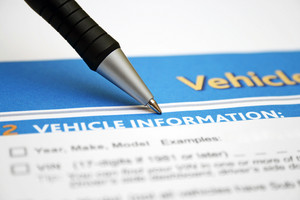 Vehicle Form