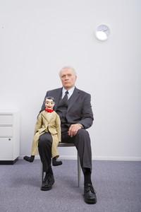 Ventriloquist portrait