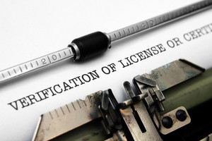 Verification Of License