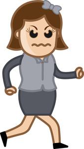 Very Angry Woman