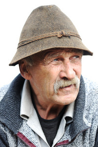 Very Nice Image of a Lonely Old man