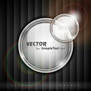 Vetor Isolated Transparent Label