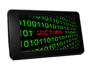 Victims Text On Pc Tablet