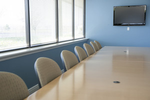 View of conference room