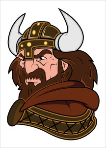 Viking Mascot Vector Illustration