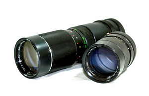 Vintage 35mm Telephoto Lenses