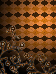 Vintage Argyle Background