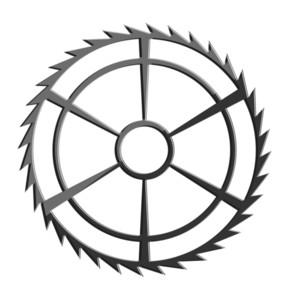 Vintage Blade Gear Wheel