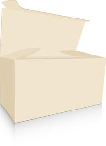 Vintage Brown Box