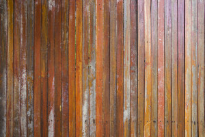 Vintage Brown wood plank wall texture background