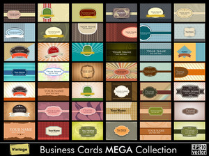 Vintage Business Card Mega Collection
