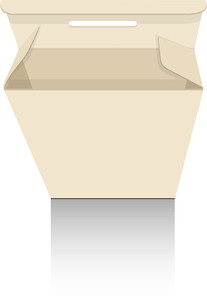 Vintage Cardboard Box