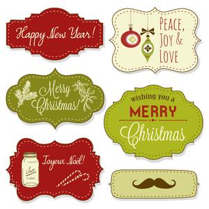 復古聖誕相框