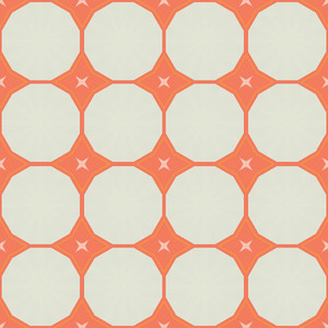 Vintage Circles Pattern Backdrop