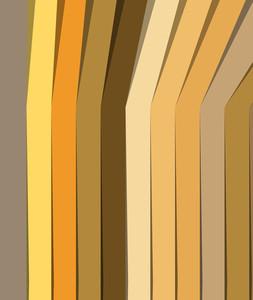 Vintage Colored Stripes Background
