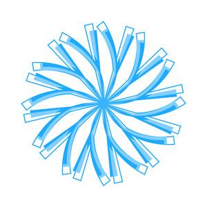 Vintage Design Snowflake