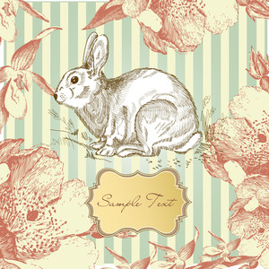 Vintage Easter Rabbit
