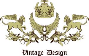 Vintage-Emblem