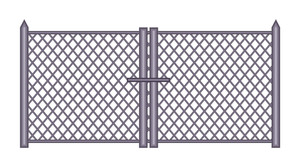 Vintage Fence Gate Design