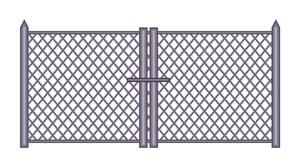 Vintage Fence Gate Design