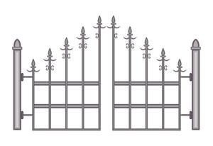 Vintage Fence Gate