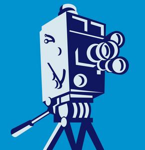 Vintage Film Movie Camera Retro