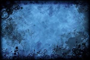 Vintage Floral Blue