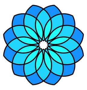 Vintage Floral Circles