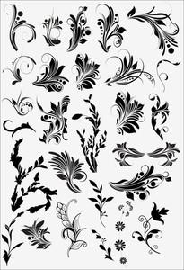 Vintage Floral Vectors