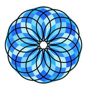 Vintage Flourish Circles