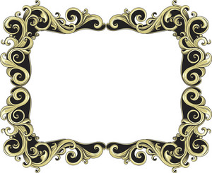 Vintage Frame Vector Element