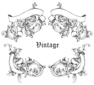 Vintage Frame Vector Illustation
