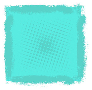 Vintage Grunge Halftone Background