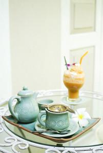 Vintage hot coffee set