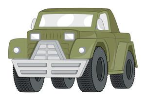 Vintage Jeep Vector