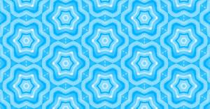 Vintage Kaleidoscope Stars Pattern