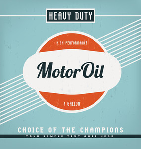 Vintage Label Design Template