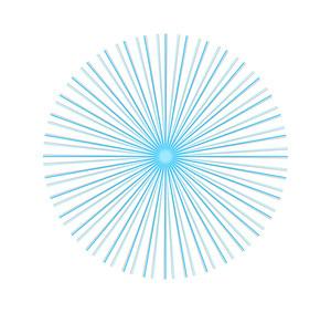 Vintage Lines Circle