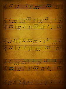 Vintage Music Background Vector Illustration