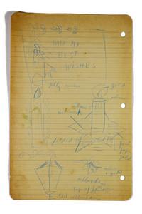Vintage Notebook Leaf