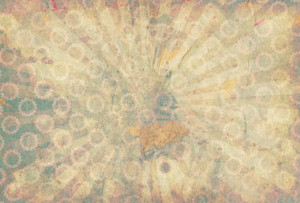 Vintage Paper Grunge Subtle Background Sunburst
